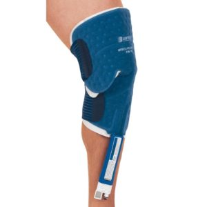 Polar Care knee pad in use